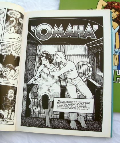 omaha,les mésaventures d'omaha,reed waller,kate worley,b.d érotique,bande dessinée érotique,seventies,comics usa
