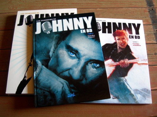 Johnny Hallyday, Johnny, bande dessinée, B.D,