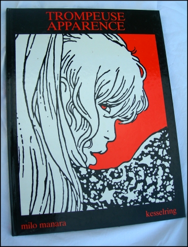 manara,trompeuse apparence,édition originale,b.d,bande dessinée,érotisme
