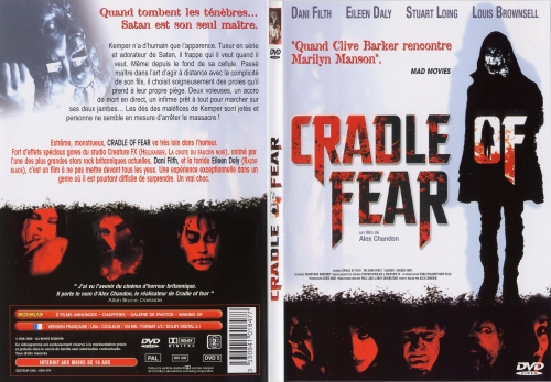 cradle of fear,dani filth,cradle of filth,dvd,film,horreur,fantastique,black metal