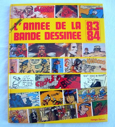 l'année de la bande dessinée 1983-84,hergé