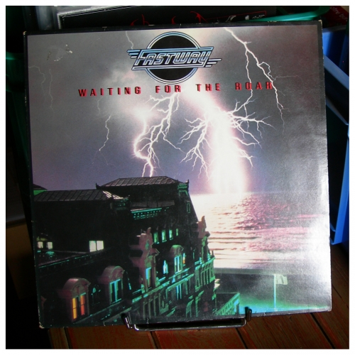 fastway,fast eddie clarke,waiting for the roar,hard rock,hard fm,lp,33 tours,vinyl