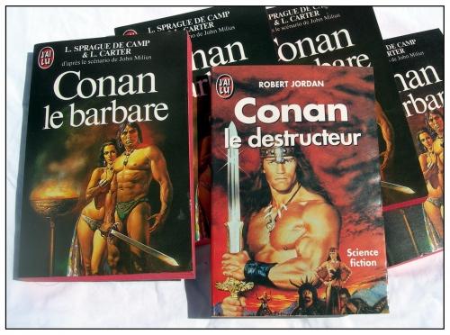 conan,conan le barbare,conan le destructeur,lyon sprague de camp,lin carter,robert jordan,heroic fantasy,heroic-fantasy,livres,le livre du film