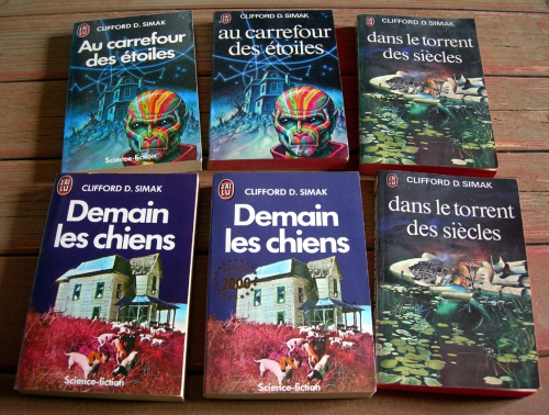 Clifford D. SIMAK, S.F, Science-fiction, science fiction, demain les chiens, livres, poches, Simak