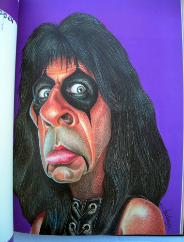 dussex,rock monsters,caricatures,humour,illustrations