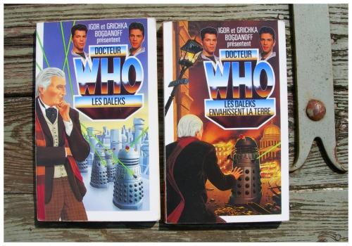 doctor who,livres,docteur who,igor & grichka bogdanoff,tardis,daleks,série tv