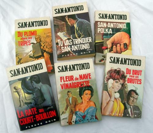 san-antonio,frédéric dard,gourdon,fleuve noir,livres,livres de poche