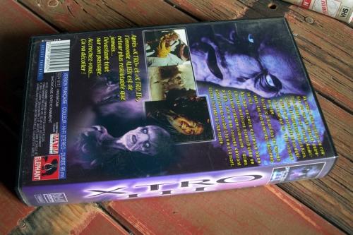 VHS, Cassettes Vidéos, Films, Aventure, Espionnage, Giallo, Films d'horreur, Films fantastique, Science-Fiction, Carole Bouquet, Richard Crenna, Victor Mature, Cinéma