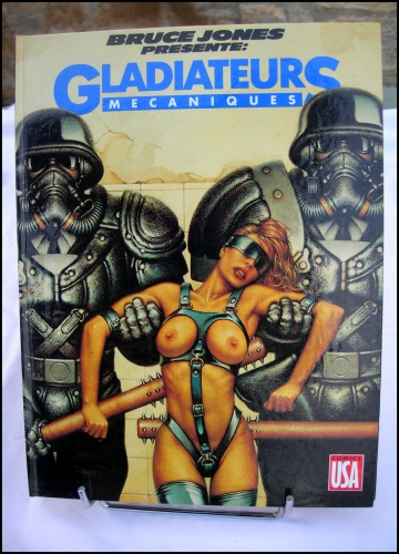 gladiateurs mécaniques,comics usa,richard corben,bruce jones,e.c,al williamson,rand holmes,scott hampton,jim sullivan,paul rivoche,william f. nolan,vintage,weird science,science fiction,s.f